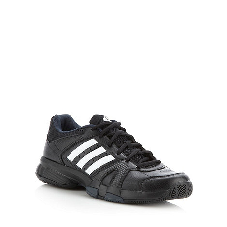 adidas - Black lace up trainers