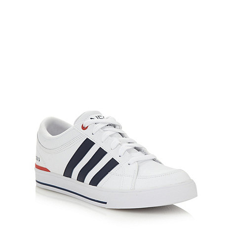adidas - White +BBNeo Skool+ trainers