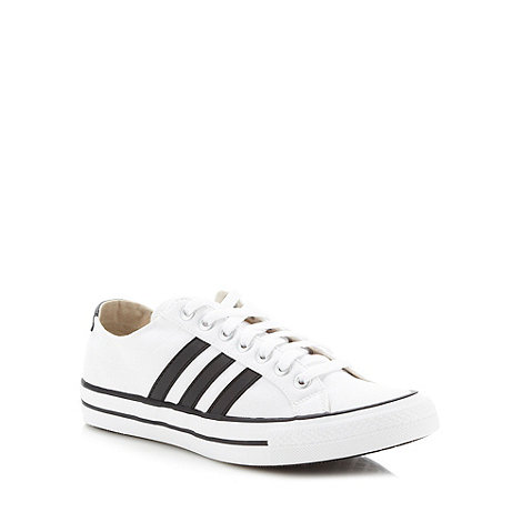 adidas - White +VLNeo 3 Stripes+ trainers