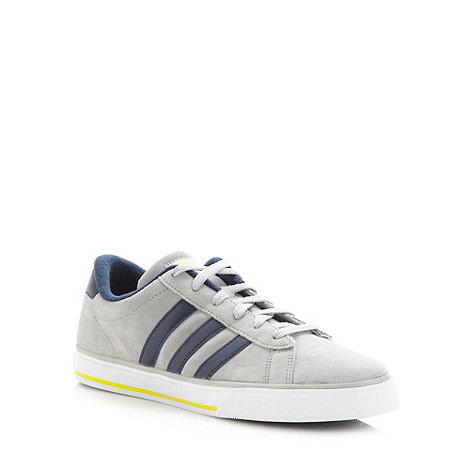 adidas - Grey +Daily+ trainers