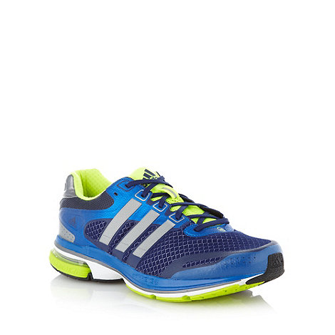adidas - Blue mesh trainers