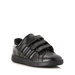 adidas - Boy's black 'Class 3' trainers