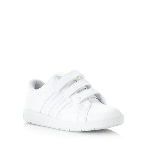 adidas - Boy+s white +Class 3+ trainers