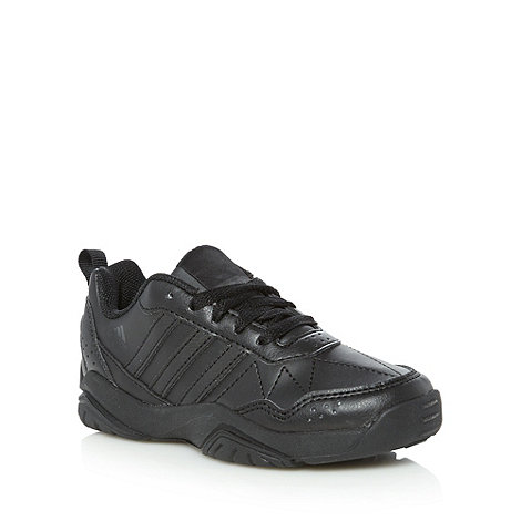 adidas - Boy's black 'LK Play' trainers