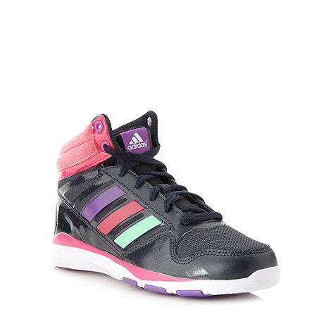 adidas - Girl+s black +Dance Mid K+ high top training shoes