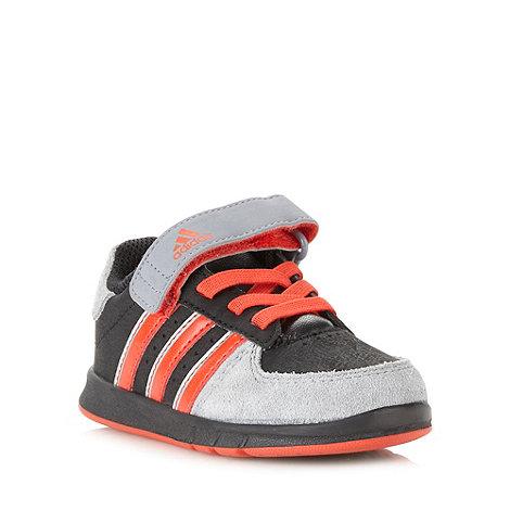 adidas - Boys grey +Janbs+ trainers