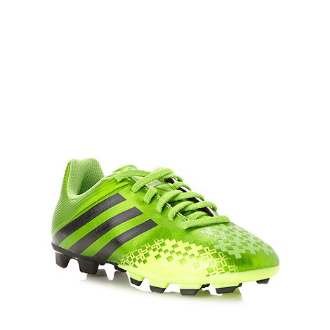 adidas - Boy's green football boots