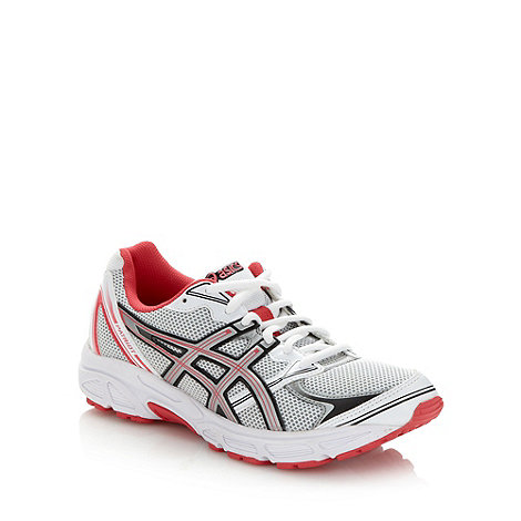 ASICS - White +Patriot 6+ running trainers