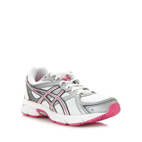 ASICS - Pink lace up +Gel Pursuit+ trainers