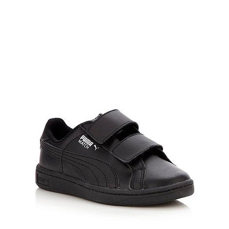 Puma - Boy+s black trainers