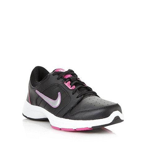 Nike - Black +Steady IX+ trainers