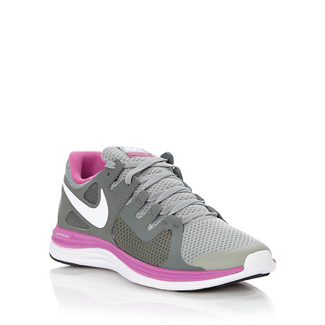Nike - Grey +Lunarflash+ trainers