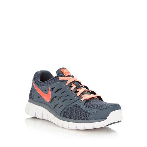 Nike - Grey +Flex+ trainers