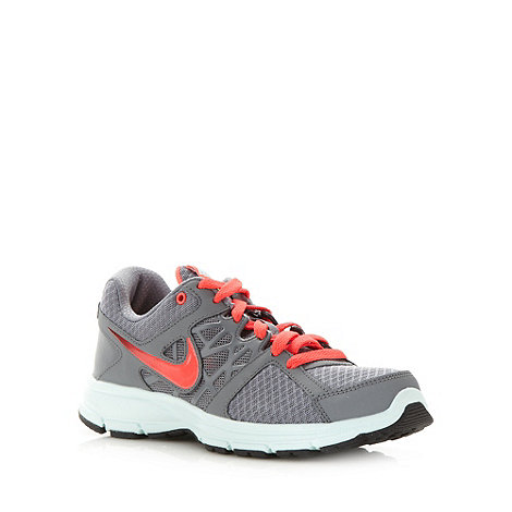 Nike - Grey mesh lace up trainers