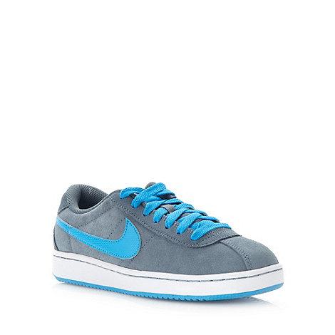 Nike - Grey +Brutez Plus+ suede trainers