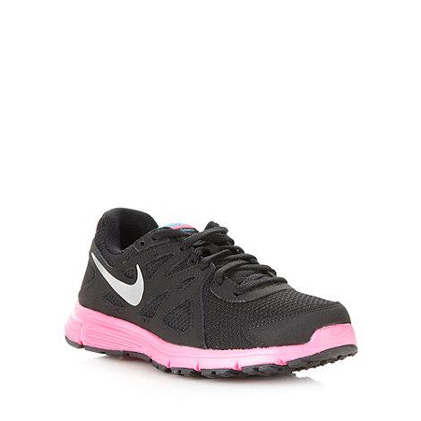 Nike - Girl+s black + Revolution 2+ trainers