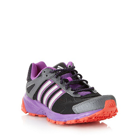 adidas - Purple +Duramo 5+ running trainers
