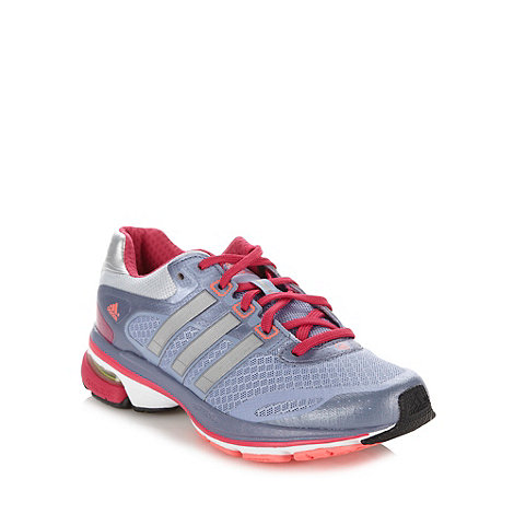 adidas - Light purple running shoes