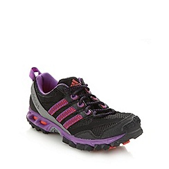 adidas - Purple 'Kanadia 5' trail running trainers