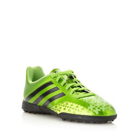 adidas - Boy+s green +Predito+ football boots
