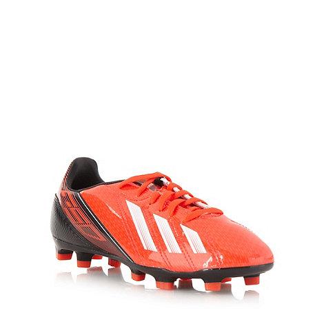 adidas - Bright red +F10 TRX FG+ football trainers