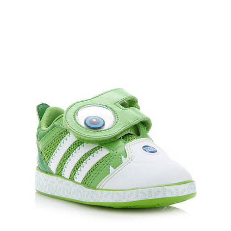 adidas - Boy+s green +Monsters University+ character trainers
