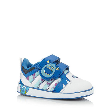 adidas - Boy+s blue +Monsters+ trainers