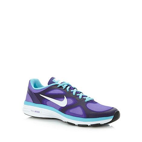 Nike - Purple +Dual Fusion 7.5+ gym trainers