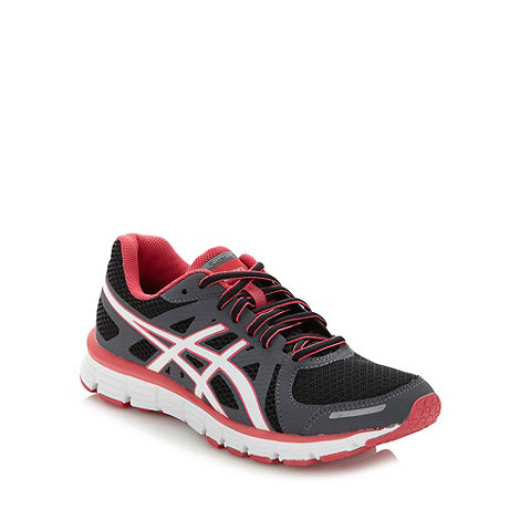 ASICS - Black +Gel Attract+ running trainers