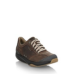 MBT - Chocolate curved sole shoes