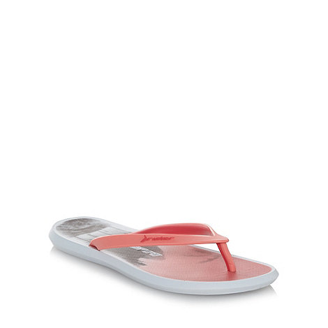 Rider - Pink mirage toe bar flip flops