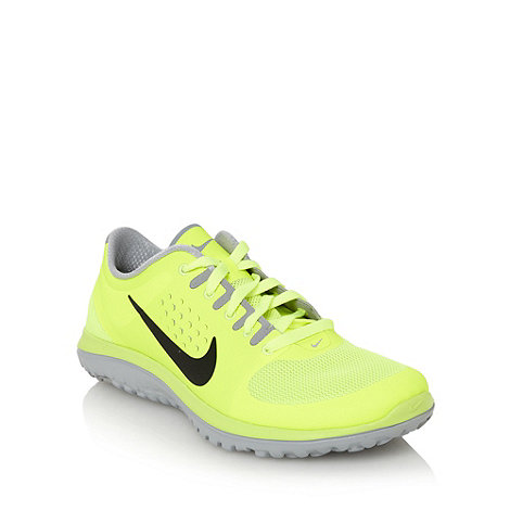 Nike - Yellow +Lite Run+ trainers
