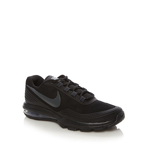 Nike - Black +Air Max+ running trainers