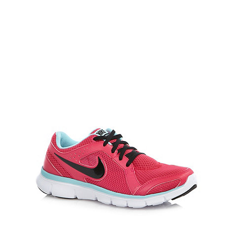 Nike - Pink +Experience+ mesh running trainers
