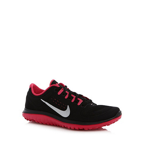 Nike - Black +Lite Run+ logo running trainers