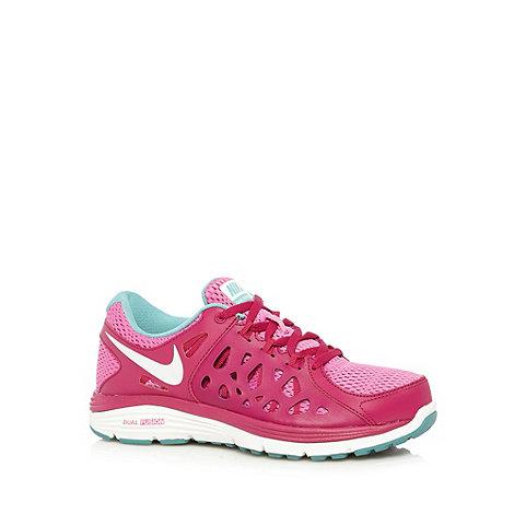 Nike - Pink +Dual Fusion Run 2+ trainers
