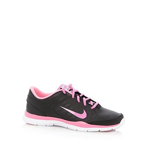 Nike - Black +Core Flex+ trainers