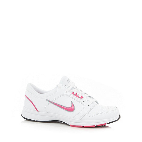 Nike - White +Steady IX+ trainers