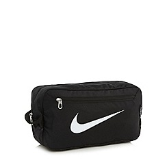 Nike - Black mesh panel shoe bag