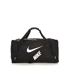 Nike - Black sports duffel bag