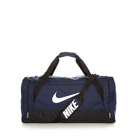Nike - Navy sports duffel bag