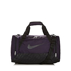 Nike - Purple 'Brasilia' holdall bag