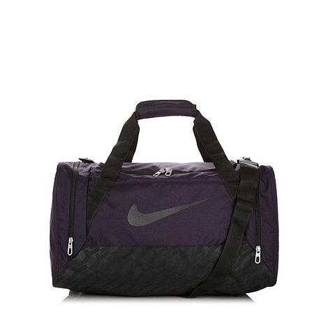 Nike Purple 'Brasilia' holdall bag