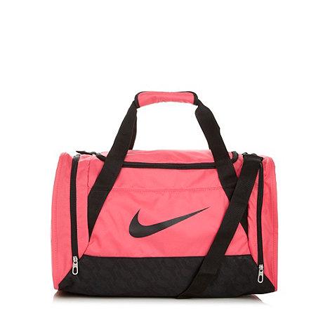 Nike - Pink +Brasilia+ holdall bag