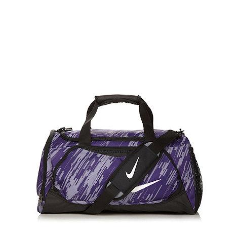 Nike - Purple striped gym bag