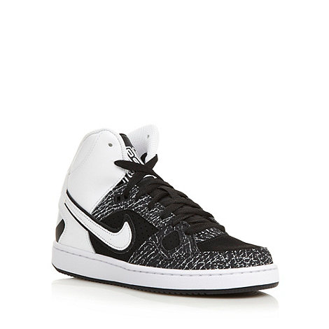 Nike - Women+s white +Son of Force mid+ trainers