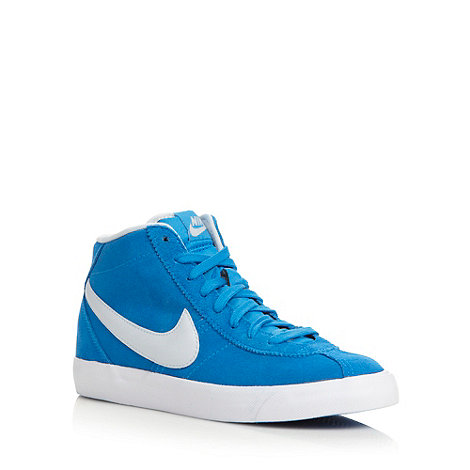 Nike - Blue +Bruin mid+ trainers