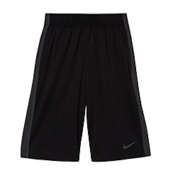 Nike - Boy's black 'Fly' gym shorts
