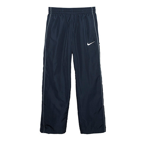 Nike - Boy+s dark grey woven jogging bottoms