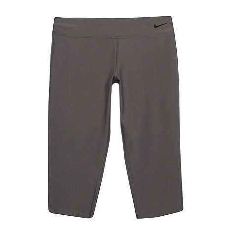 Nike - Girl+s grey +Legend+ tight capri pants